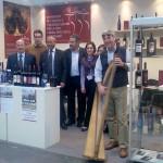 Vinitaly 2010 - Stand del Consorzio Terre dell'Alta Val d'Agri con alcuni produttori