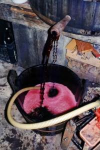 Svinatura di vino naturale