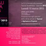 Invito Operatori Vendemmia Taurasi 2013