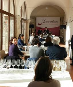 La sala di degustazione al Convento Wine Space